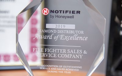 2019 Notifier Diamond Distributor Award