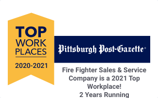 Fire Fighter Named Winner Of Greater Pittsburgh Top Workplaces 2021 Award